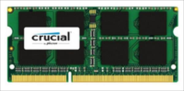 Crucial SODIMM DDR3L,  4GB, 1866MHz,  C13 (CT4G3S186DJM) operatīvā atmiņa