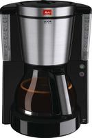 Melitta 1011-06 Look DeLuxe Fliterkaffeemaschine black Elektriskā Tējkanna