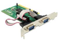 Delock PCI Card 2x Serial (COM, RS-232) karte
