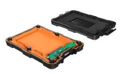 Icy Box External waterproof enclosure for 2.5'' SATA SSD/HDD, USB3.0, IP65 Black cietā diska korpuss