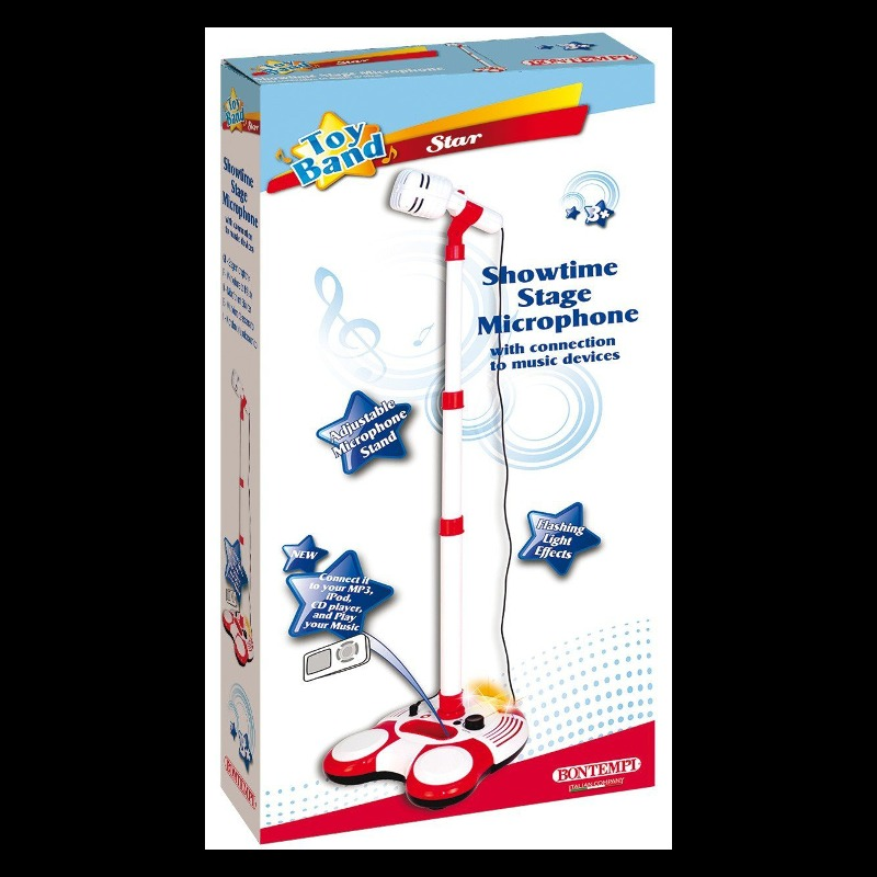 Stage microphone with light and sound effects 1830 mūzikas instruments
