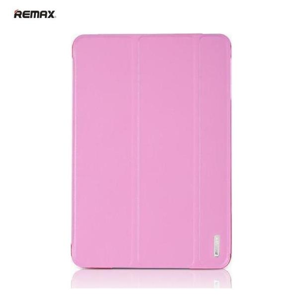 Remax Jane Smart Ultra Slim Eco Leather Book Case with Multi Stand & Auto On-Off Apple iPad Air 2 Pink planšetdatora soma
