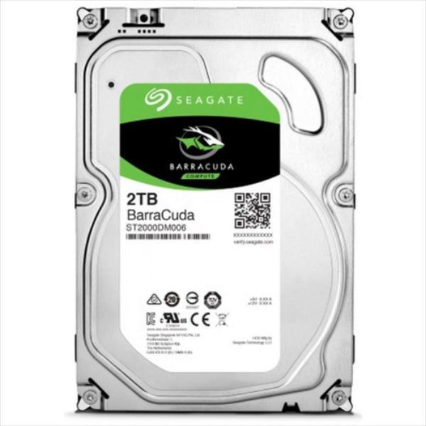 Seagate BarraCuda 3.5'' 2TB SATA3 7200RPM 64MB cietais disks