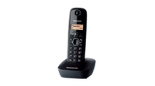 Panasonic KX-TG1611  Black telefons