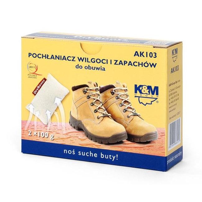 K&M Group Mitruma un smakas absorbētājs apaviem KM-AK103 Kopšanas līdzekļi apaviem