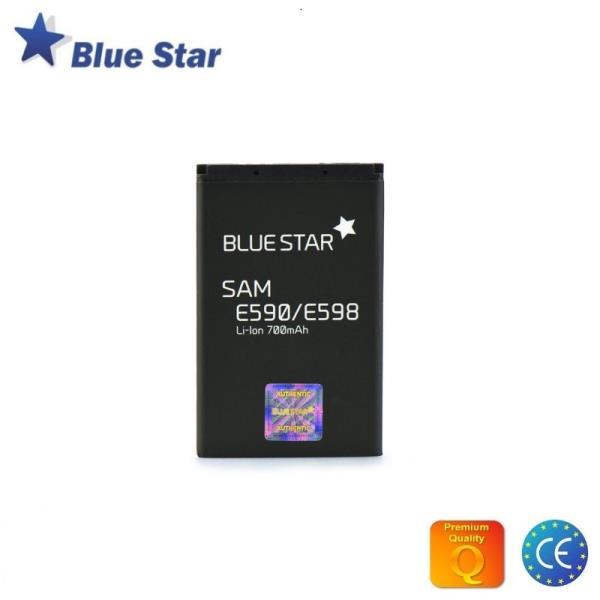 BlueStar Akumulators Samsung E590 E598 E790 Li-Ion 700 mAh Analogs AB403450BU aksesuārs mobilajiem telefoniem