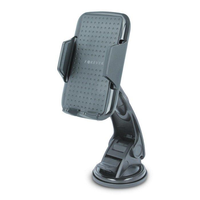 Forever CH-300 Universāls Auto stiprinājums (5,5-9cm) Melns Mobilo telefonu turētāji