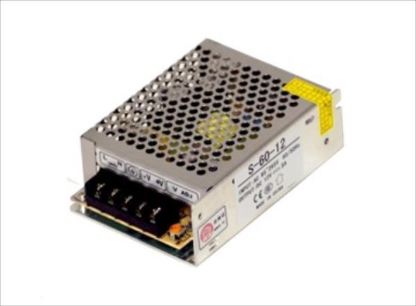 MikroTik 12V, 5A, 60W (S-60-12) adapteris