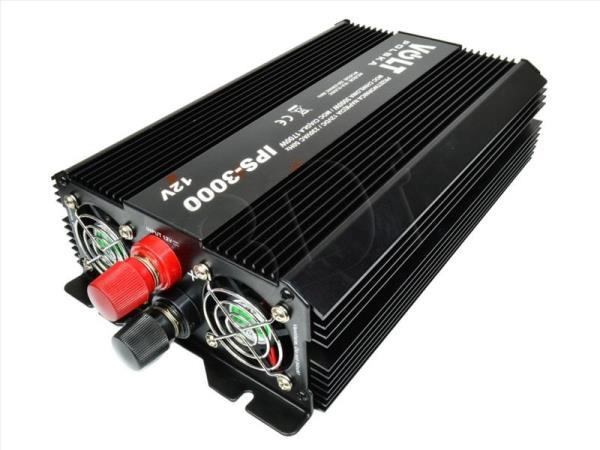 Volt IPS 3000 12/230V USB Strāvas pārveidotājs, Power Inverter