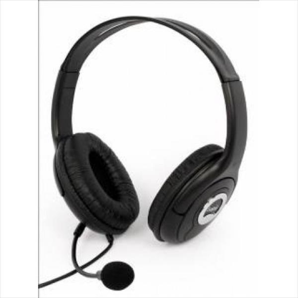 LOGIC HEADPHONES S-LC-30 Black austiņas