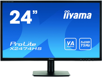 Iiyama X2474HS-B1 23,6inch, panel VA, D-Sub/HDMI/DP, speakers monitors