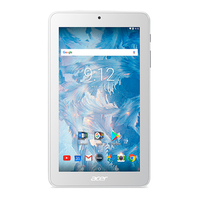 Acer Iconia B1-7A0-K8TH 16GB white Tablet (NT.LEKEG.001) Planšetdators