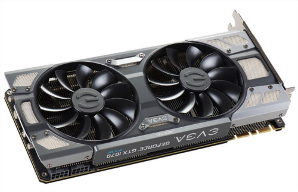 EVGA GeForce GTX 1070 FTW GAMING ACX 3.0, 8GB GDDR5 (256 Bit), HDMI, DVI, 3xDP video karte