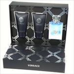 Versace Pour Homme Edt 50ml + 50ml Shower gel + 50ml After shave balm 50ml Vīriešu Smaržas