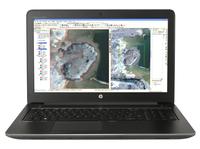 HP ZBook 15 G3 2.6GHz i7-6700HQ 15.6collas 1920 x 1080Pixel black (T7V52EA) Portatīvais dators
