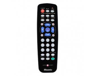 Msonic MBC415K Univers la t lvadības TV pults pults