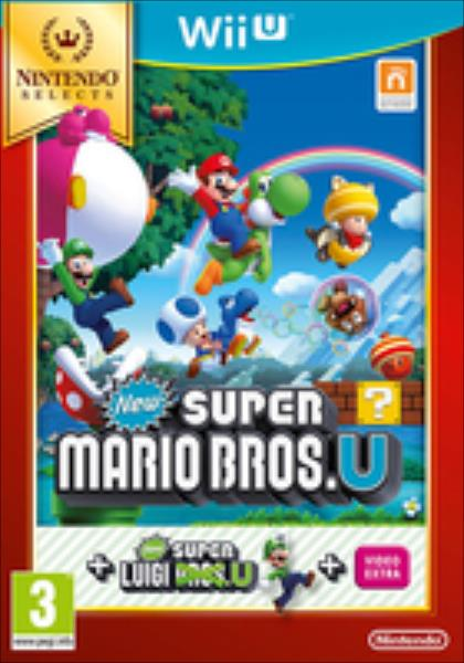 New Super Mario Bros. U & New Super Luigi U Nintendo Selects (Wii U) spēle