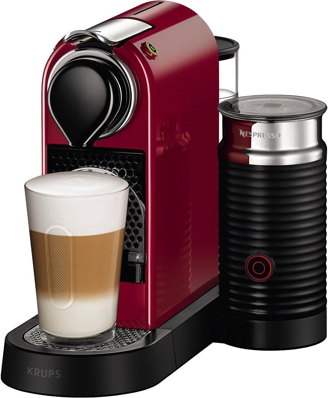 Krups CitiZ&Milk Nespresso XN7605 Red Kafijas automāts