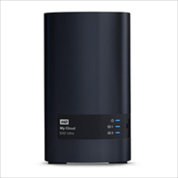 NAS WD My Cloud EX2 Ultra, RAID, 8TB, 10/100/1000 Mb/s, black Ārējais cietais disks