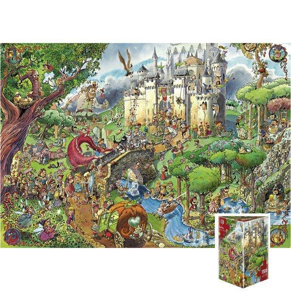 Heye 1500 EL. Fairy Tales, Prades - 29414 puzle, puzzle