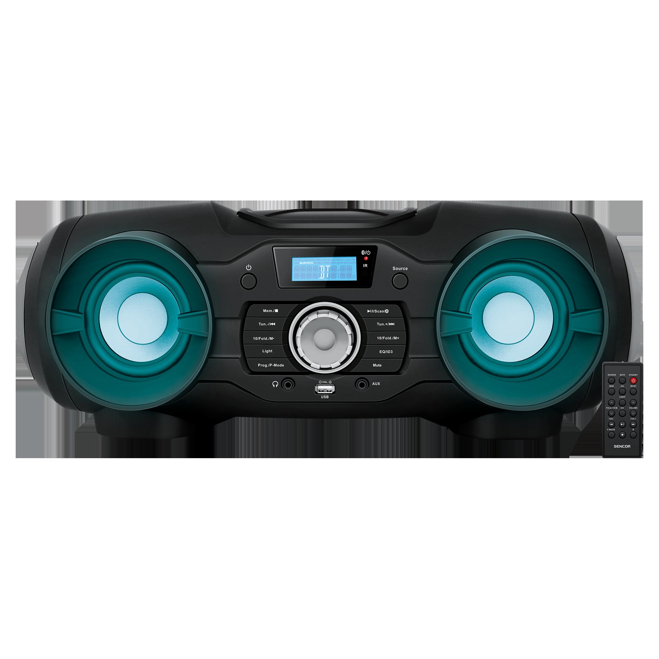Boombox CD/MP3/USB/BT/AUX SENCOR SPT 5800 magnetola