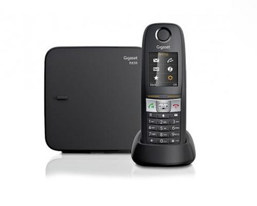 Panasonic KX-PRW120GW Premium Designtelefon with AB black telefons