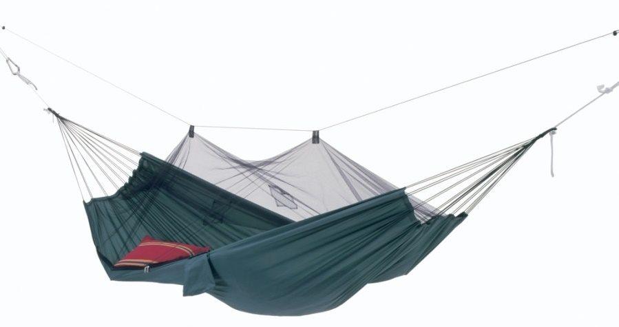 Amazonas Moskito-Traveller Travel Hammock, 220x140 cm, 150 kg Dārza mēbeles