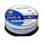 Esperanza DVD-R [ cake box 25   4.7GB   16x ] matricas