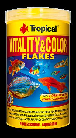 Tropical Vitality&Color 1000ml/200g zivju barība