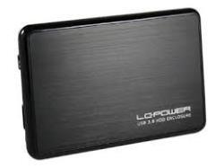 LC-Power HDD ENCLOSURE 2,5' SATA3 LC-25BUB3 USB 3.0 BLACK cietā diska korpuss