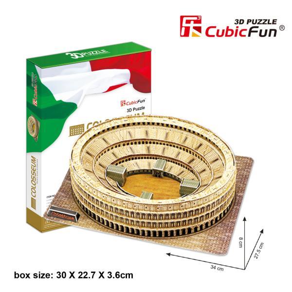 Cubicfun PUZZLE 3D Colosseum - MC055H puzle, puzzle