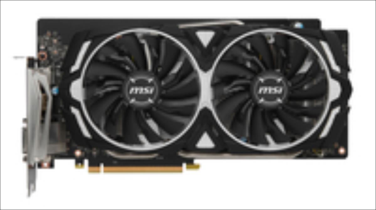 MSI GeForce GTX 1060 Armor 6G OC, 6144 MB GDDR5 video karte