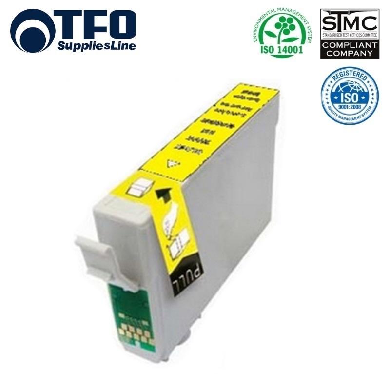TFO Epson T1814 Dzeltens Tintes kārtridžs 15ml (C13T18144010) XP-101 XP-205 XP305 HQ Premium Analogs