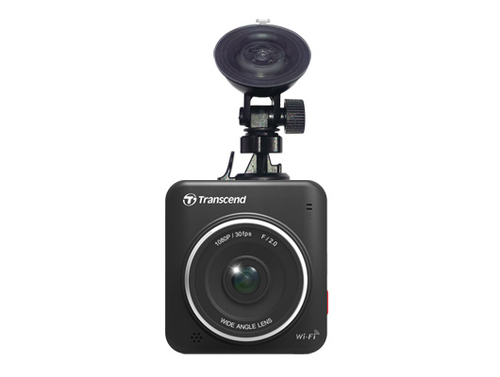 Transcend DVR video recorder black box FULL HD microSDHC 16GB, Suction Mount videoreģistrātors