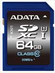 A-DATA 64GB Premier SDHC UHS-I U1 Card (Class10) read/write atmiņas karte