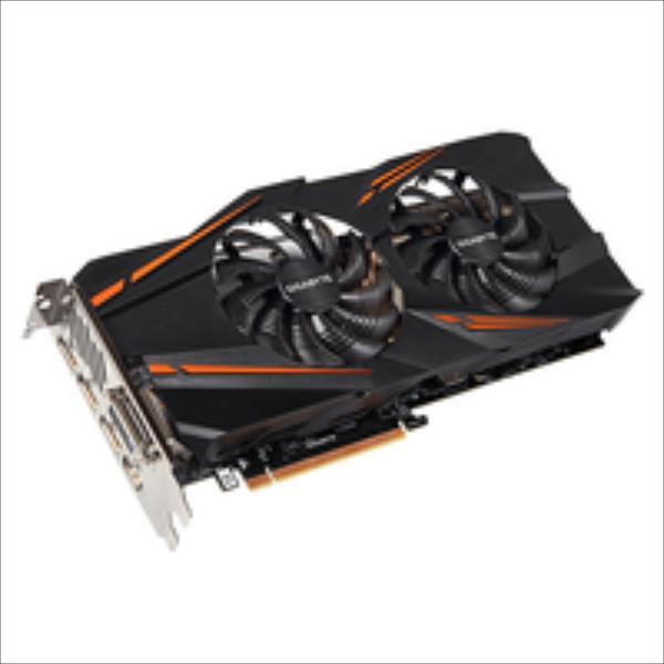 Gigabyte GeForce GTX 1070 OC, 8GB GDDR5 (256 Bit), HDMI, DVI, 3xDP video karte