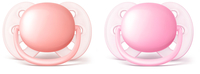 AVENT māneklītis Ultra soft , 0-6M (2 gab), meitenēm SCF213/20 māneklītis, knupis