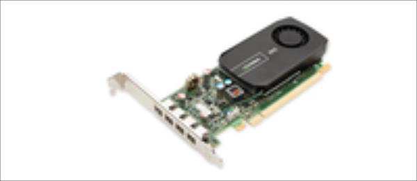 PNY NVIDIA NVS 510, 2GB GDDR3 (128 Bit), 4x miniDP, 4x miniDP to DP adapters, LP video karte
