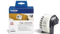 Brother DK-22225, 38mm continous paper tape - DK22225 uzlīmju printeris