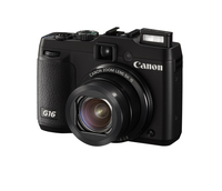 Canon PowerShot G16 12.1Mpix 5x IS Black Digitālā kamera
