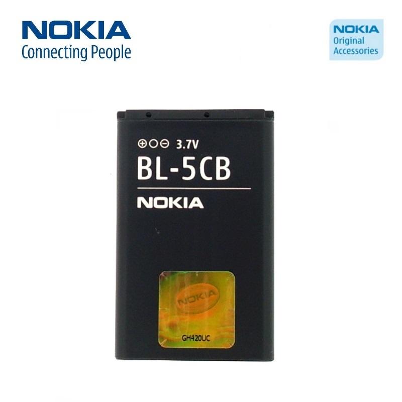 Nokia BL-5CB Original Battery for C1-01 N70 E50 Li-Ion 800mA akumulators, baterija mobilajam telefonam