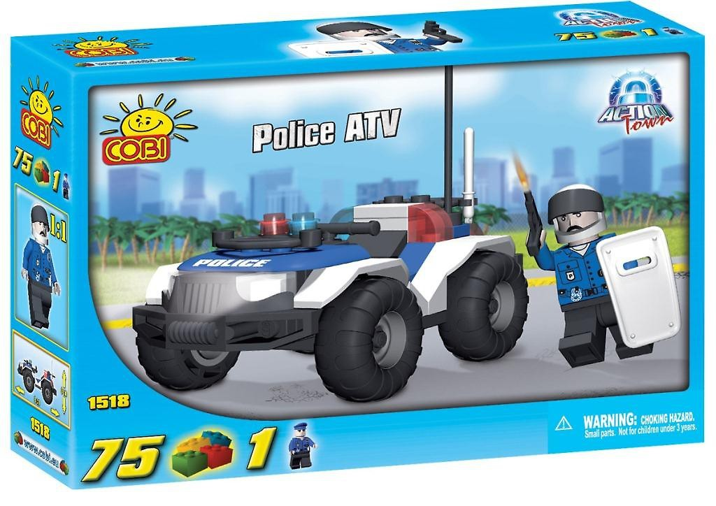 Cobi Policijas masina ( 75el.)(1518) konstruktors