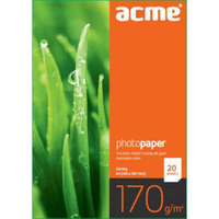 ACME Photo Paper Value A4 170 g/m2 20pack Glossy foto papīrs