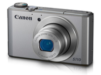 Canon PowerShot S110 12.1Mpix 5x IS Silver Digitālā kamera