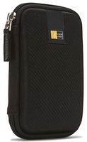 Case Logic Portable Hard Drive Case Black, Molded EVA Foam piederumi cietajiem diskiem HDD
