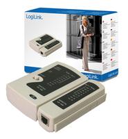 Logilink Cable Tester RJ11, RJ12, RJ45 Darbarīki