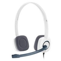 Logitech Stereo Headset H150, PC, White austiņas