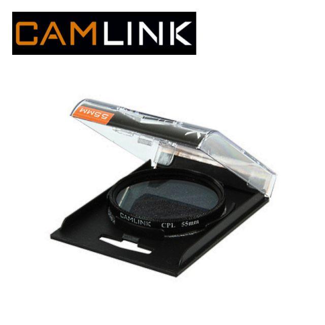 Camlink CML-CL-55CPL Cirkul rais polariz cijas filtrs pret a UV Filtrs