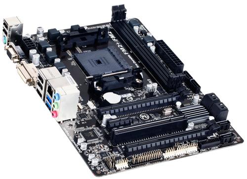 GIGA-BYTE MB AMD A88X SFM2+ MATX/GA-F2A88XM-HD3 pamatplate, mātesplate