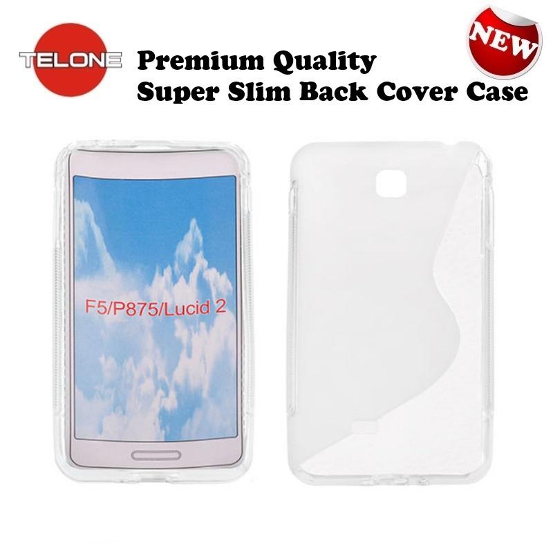 Telone Back Case S-Case gumijots telefona apvalks LG P875 aksesuārs mobilajiem telefoniem